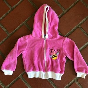 Other - Busy Bee Terrycloth Hoodie